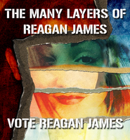 Reagan James, Layers by 1Wyrmshadow1