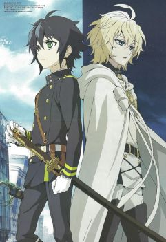 Owari no Seraph Wallpaper anime by corphish2