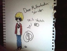 Dave Sketchy by Tammiikat