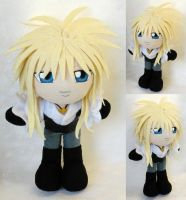 Commission, Mini Plushie Jareth by ThePlushieLady