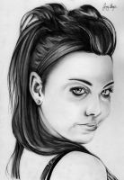 Amy Lee by chairboygazza