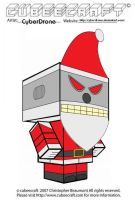 Cubeecraft - Evil Robot Santa by CyberDrone