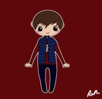 Rory Williams Chibi by RawrRufus