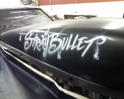 'Stray Bullet' drag car by KidStyles