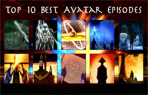 air30002's Top 10 Best Avatar Episodes by air30002