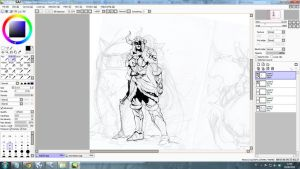 WIP -  Winter Claw by SketchesLikeaBoss