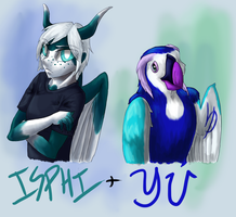 Yu And Isphi by YuPuffin