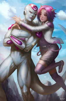 Frieza by NOPEYS
