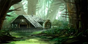 Jungle house by Pikoia