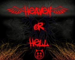 Heaven or Hell by testament-funeste