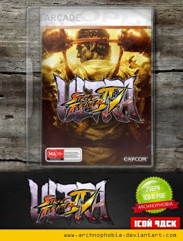 Ultra Street Fighter IV (Icon Pack) by archnophobia
