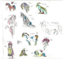 adoptables by PONYGIRL4