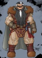Magnus in all his Dwarfiness by thethrash87