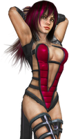 Anna Williams in Sindel Outfit by SpyrousSeraphim
