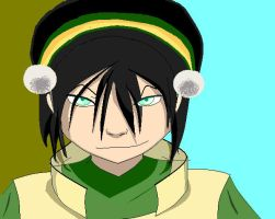 Toph The Blind Bandet by RedRoseQueen