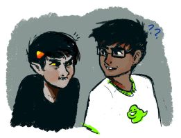 Karkat are you even breathing by Sermnae