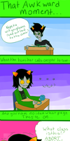 Homestuck: Awkward Moments 1 by RougeChocobo