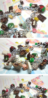 Chocolate Shop Bracelet by GrandmaThunderpants