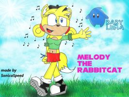 Melody the RabbitCat by SonicaSpeed