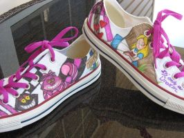 Alice in wonderland shoes 2 by Jenna-a-Sayianbabe