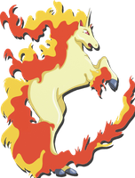 """New Rapidash"" by Suesanne"