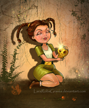 Young Lara doodly by LaraRobsGraves