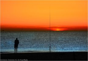 Sunrise Fishing_2 by Marcello-Paoli