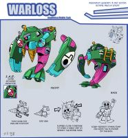 Warloss Bonne Mecha Event by weremole