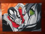Vasto Lorde Ichigo vs. Ulquiorra (finished ) by master-cartoonist