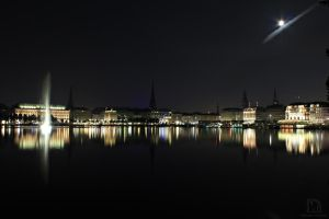 Hamburg - Skyline by m-eickhoelter