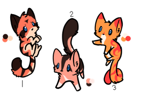 Kitty Design Adoptables by SpottedAdopts