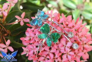 Gemstone Butterflies by BoboMagroto