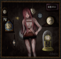 Time is running out + speedpaint by ChiakiTasso