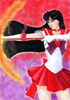 Sailor Mars Flame Sniper by JennieLuv