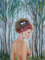 Into the Woods - by Denise Godeau by Deevine9
