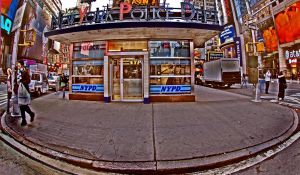 nypd_times square by ivyblue