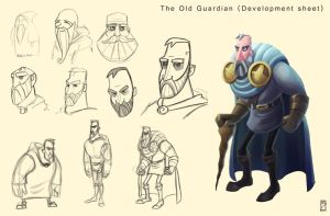 The Old Guardian Dev Sheet by EdBourg