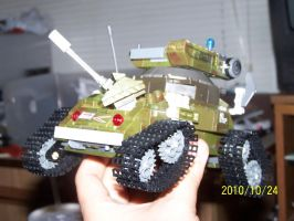 UNSC Bonaparte Raccoon Tank 10 by coonk9