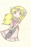 The Hyrule Princess by Linkerbell