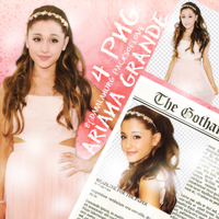 Arianagrandepngpack#pof by Doublepower