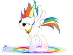 Super Rainbow Dash by RainbowDashie