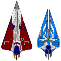 Delta7 with Mini-Gamma6 class by kavinveldar