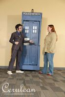 Doctor Who Photoshoot: The Doctor and Sally by StrangeStuffStudios