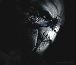 Garrus Vakarian - ''You'll Never Be Alone...'' by QuixoticPanther