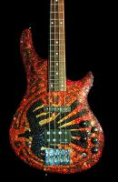 Swarovski Guitar - WAR 2 by z0mbieparade