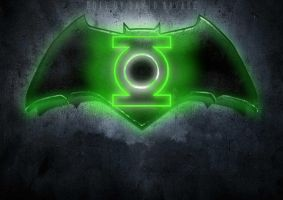 Batman v Green Lantern by ultimate-savage