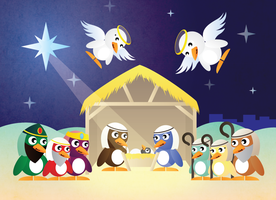 A Very Penguin Christmas by matthiason