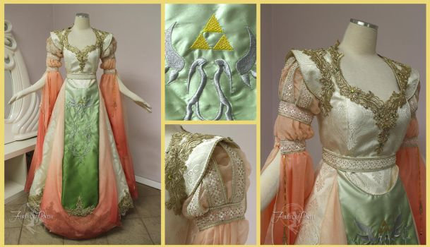 Original Princess Zelda Gown by Firefly-Path