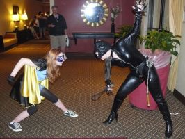 Catwoman VS Misfit by CatwomanofTheSouth