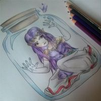 Princess Hilda In A Bottle by laurasstarlight